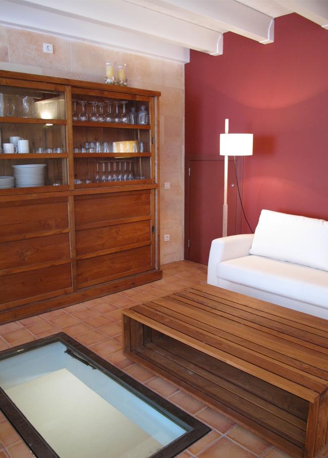 casa de verano sala de estar